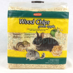 PADOVAN Wood Chips Green Apple 1kg - Pet Republic Jakarta