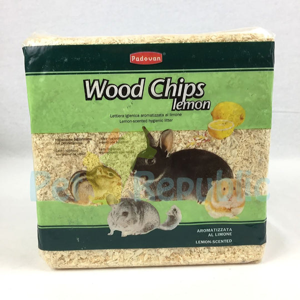 PADOVAN Wood Chips Lemon 4kg - Pet Republic Jakarta