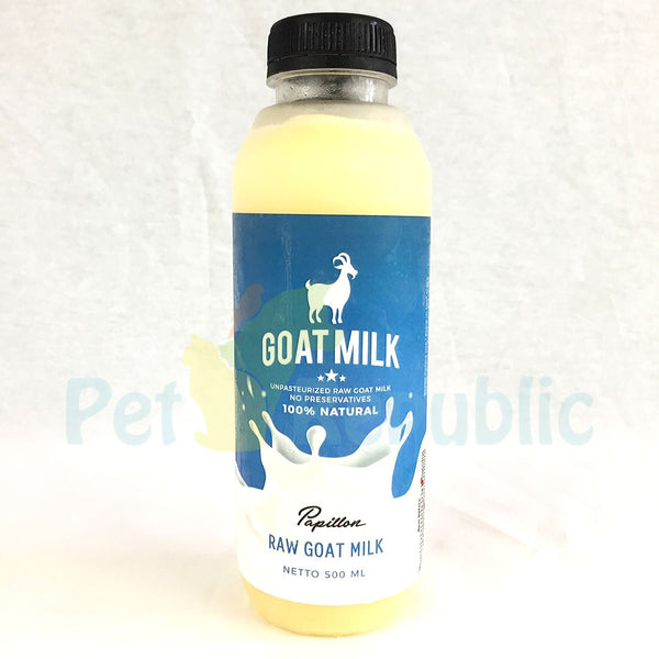 PAPILLON Goat Milk Raw 500ml - Pet Republic Jakarta