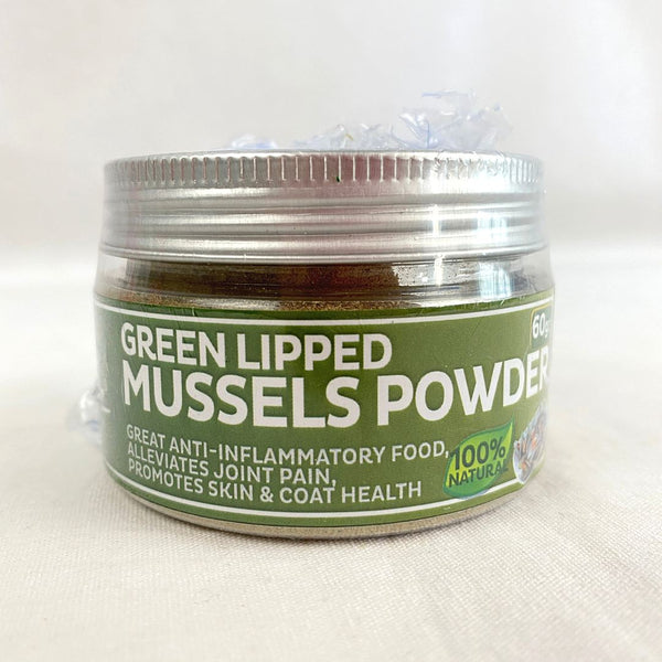 PAPILLON Green Lipped Mussels Powder 60g Pet Vitamin and Supplement Papillon