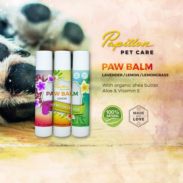 PAPILLON Paw Balm Grooming Pet Care Papillon