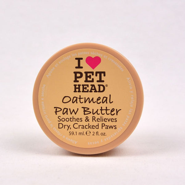 PET HEAD Oatmeal Natural Paw Butter 59.1ml Grooming Pet Care Pet Head