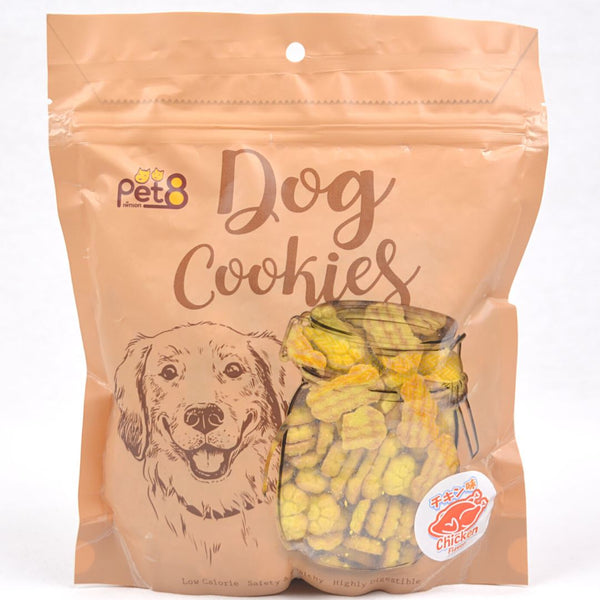 PET8 Dog Cookies Paw 350g Dog Snack Pet8 Chicken