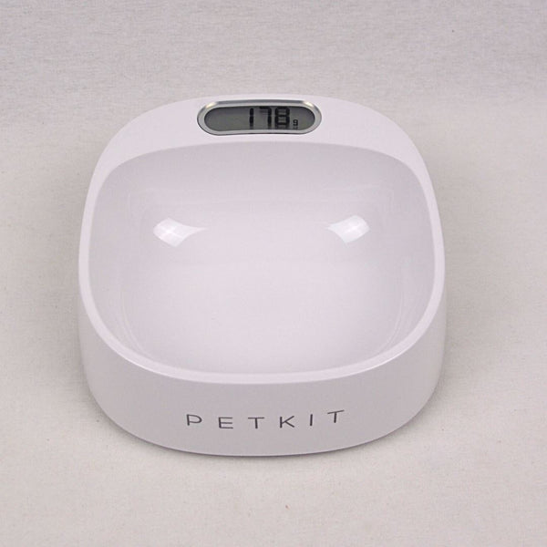 PETKIT Fresh Smart Anti Bacterial Bowl with Scale WHITE Pet Bowl Petkit
