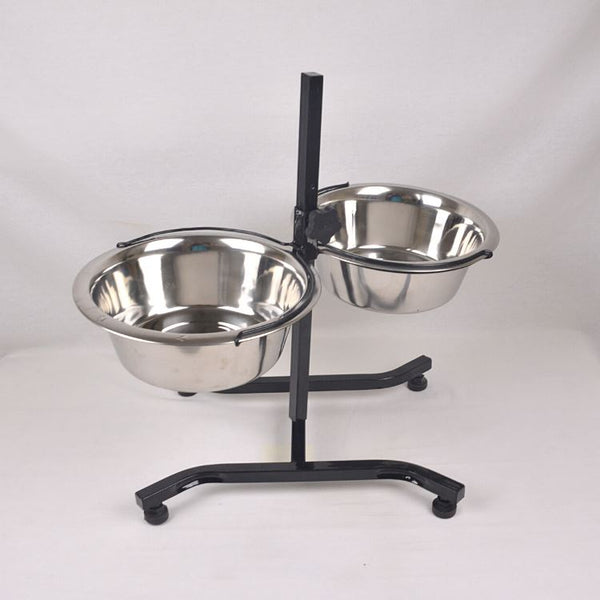 Petopia BOWL222 Adjustable Standing Bowl 26cm Pet Bowl Topindo