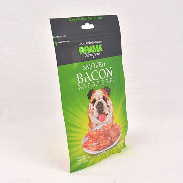 PRAMA Smoky Bacon 70gr Dog Snack Prama