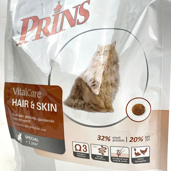 PRINS Vitalcare Hair And Skin 1,5kg Cat Dry Food Prins
