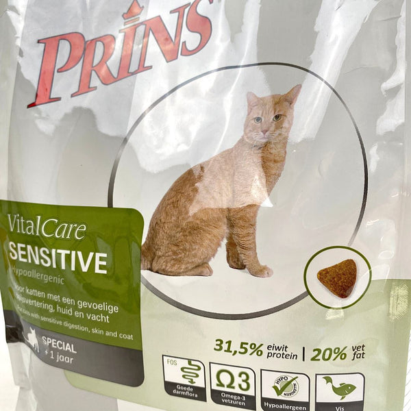 PRINS Vitalcare Sensitive Hypoallergenic 1,5kg Cat Dry Food Prins