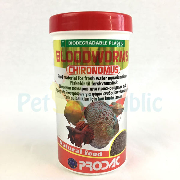 PRODAC Bloodworms 20gr - Pet Republic Jakarta