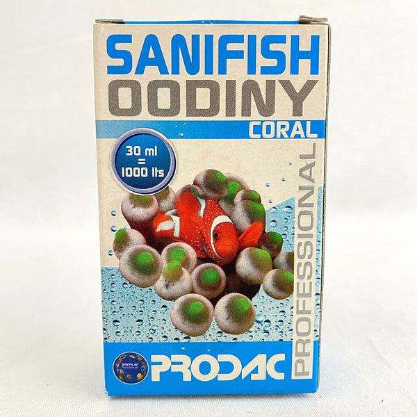 PRODAC Sanifish Oodiny Coral 30ml Fish Medicated Care Prodac