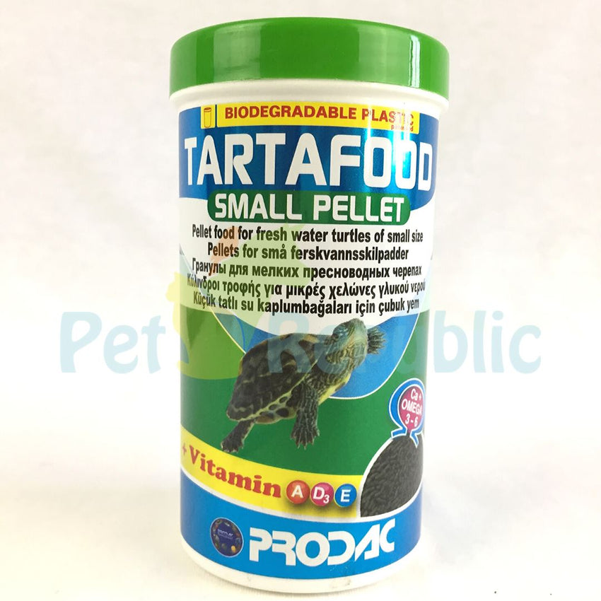 PRODAC Tartafood Small Pellet 250ml - Pet Republic Jakarta