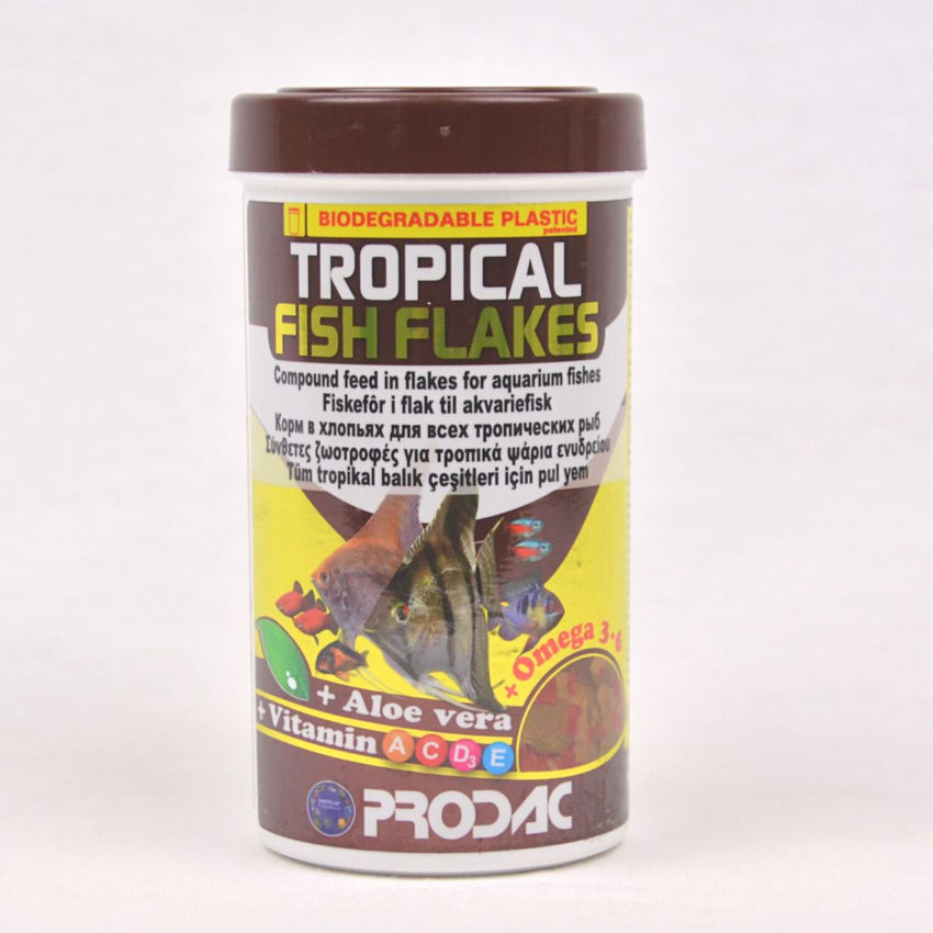 PRODAC Tropical Fish Flakes 250ml Fish Food Prodac