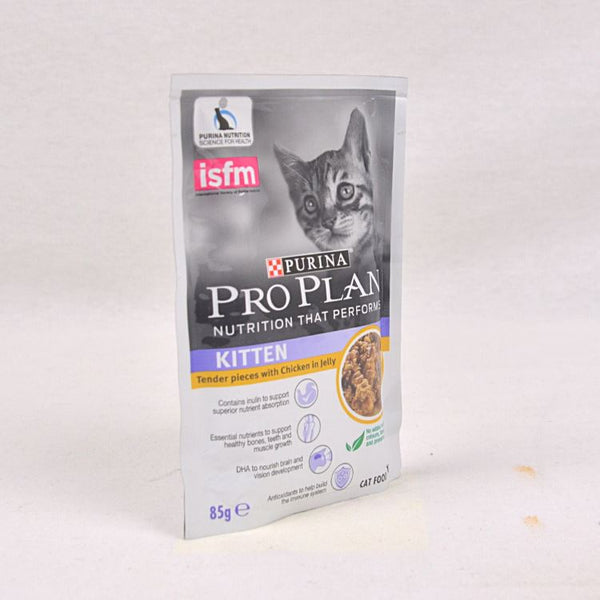 PROPLAN Pouch Kitten Chicken 85gr Cat Food Wet Proplan