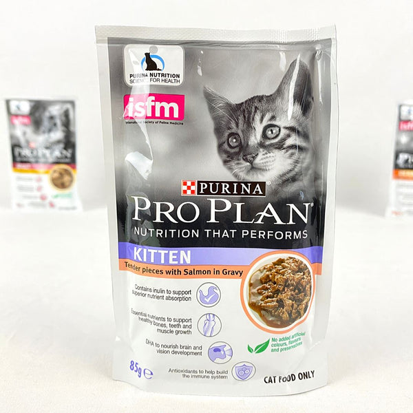 PROPLAN Pouch Kitten Salmon 85gr Cat Food Wet Proplan