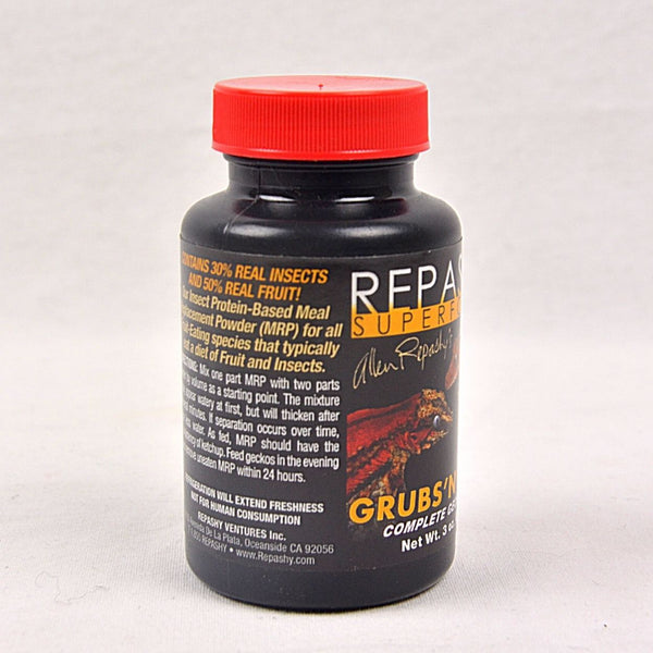 REPASHY Grubs and Fruit 85g Reptile Snack Reptile Supplement Repashy