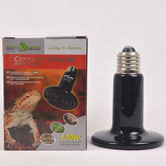 REPTIZOO Ceramic Heat Emitter Flat 100W Reptile Heating & Lighting Reptizoo