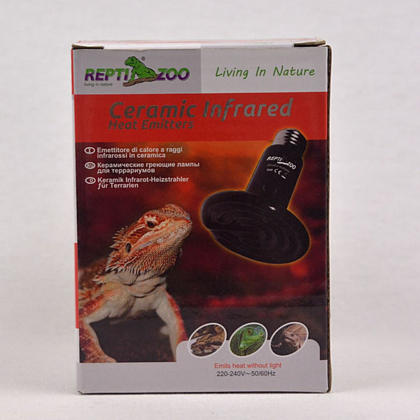 REPTIZOO Ceramic Heat Emitter Flat 60W Reptile Heating & Lighting Reptizoo