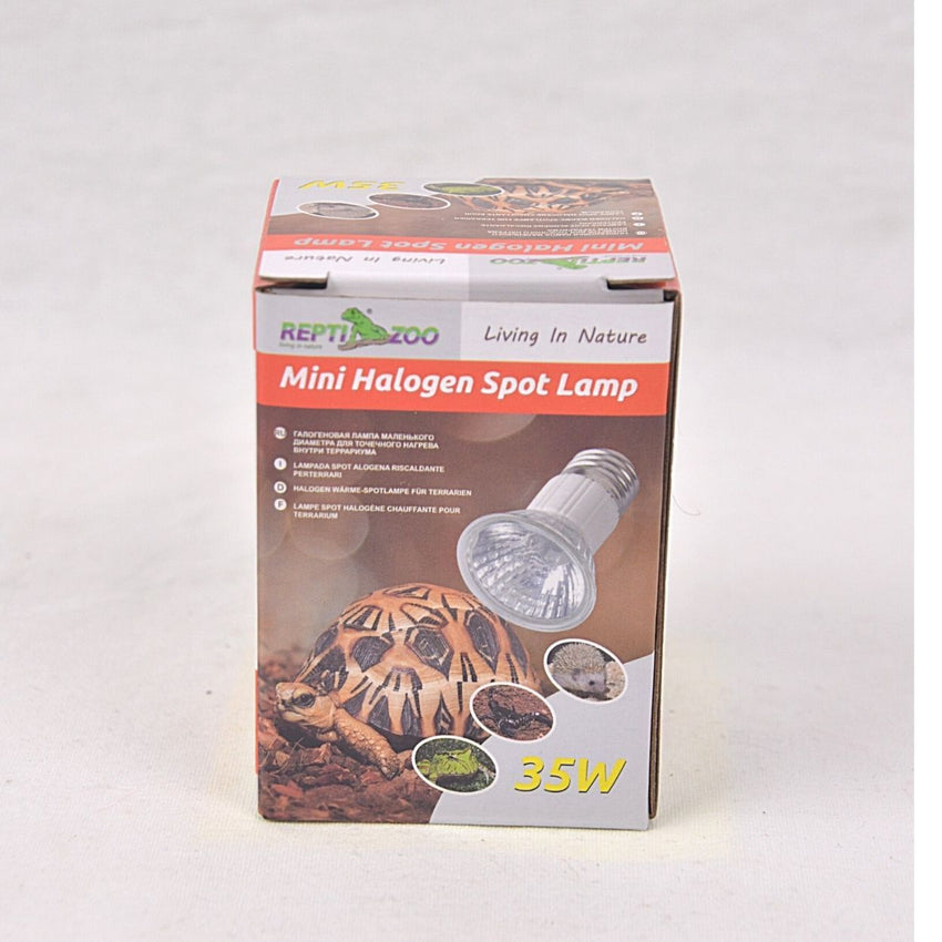 REPTIZOO HL001 Halogen Spot Lamb 35w Reptile Heating & Lighting Reptizoo