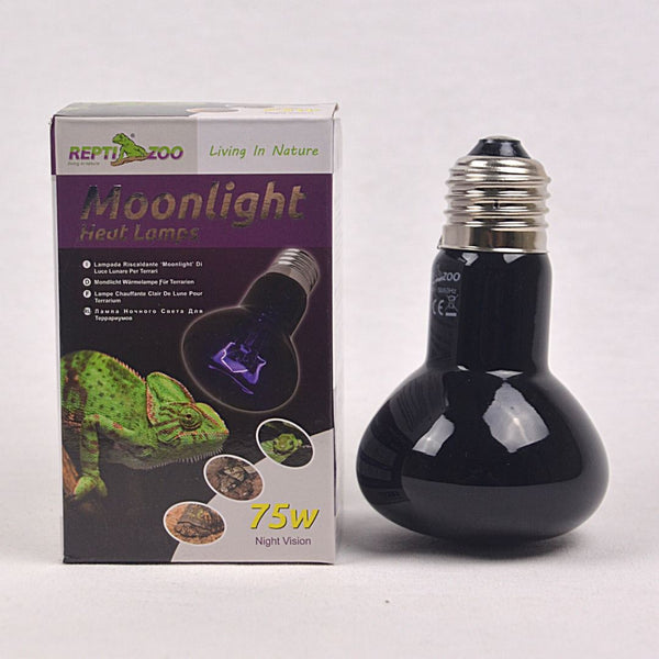 REPTIZOO Moonlight Spot Lamp 75W Reptile Heating & Lighting Reptizoo