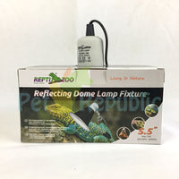 "REPTIZOO RL04 Reflecting Dome Light Fixture 5,5"" 75W W/Spring - Pet Republic Jakarta"