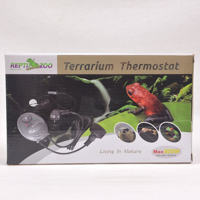 REPTIZOO Terrarium Thermostat 1slot Reptile Heating & Lighting Reptizoo