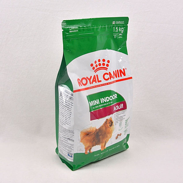 ROYAL CANIN Canine Mini Indoor Adult 1,5kg Dog Food Dry Royal Canin