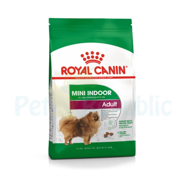ROYAL CANIN Canine Mini Indoor Adult 3kg - Pet Republic Jakarta