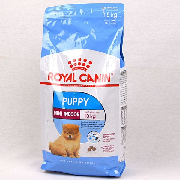 ROYAL CANIN Canine Mini Indoor Puppy 1.5kg Dog Food Dry Royal Canin