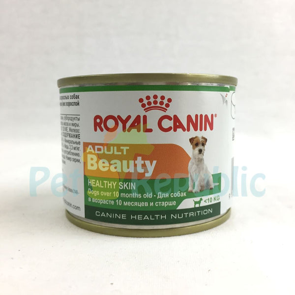 ROYALCANIN Canine Adult Beauty Canned Food 195gr - Pet Republic Jakarta