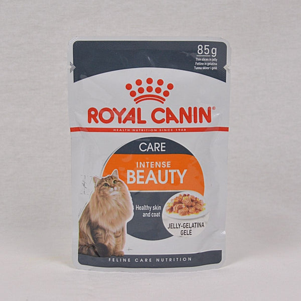 ROYALCANIN Cat Intense Beauty Pouch Jelly 85gr Cat Food Wet Royal Canin