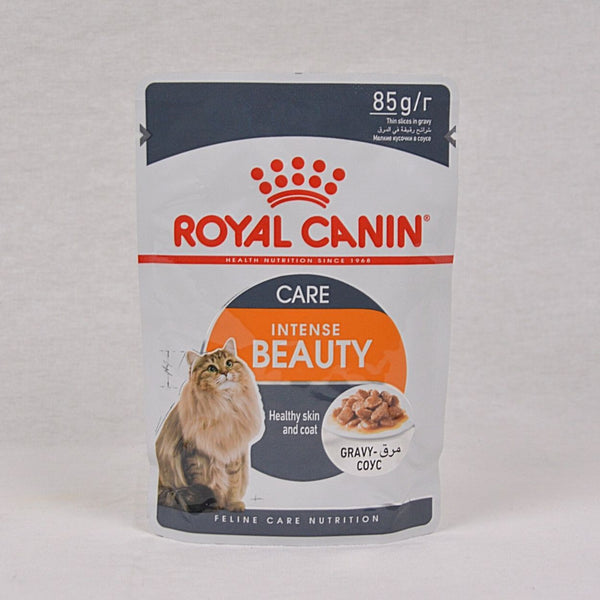 ROYALCANIN Cat Intensive Beauty Pouch Gravy 85gr Cat Food Wet Royal Canin