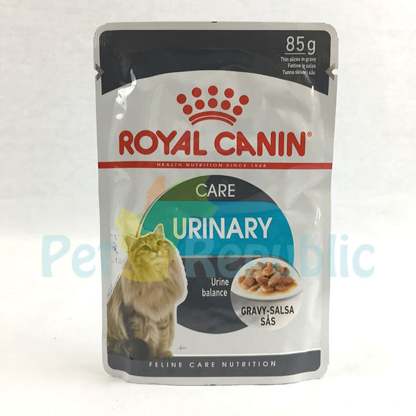 ROYALCANIN Cat Urinary Care Pouch Gravy 85gr - Pet Republic Jakarta