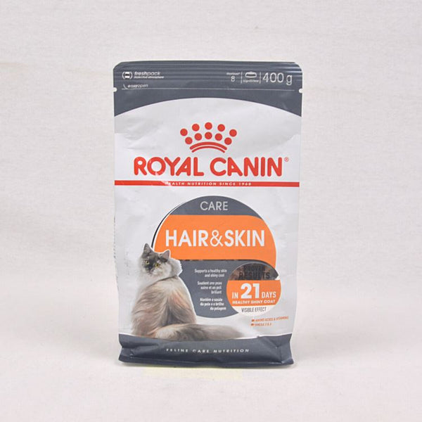 ROYALCANIN Feline Hair and Skin 400gr Cat Dry Food Royal Canin