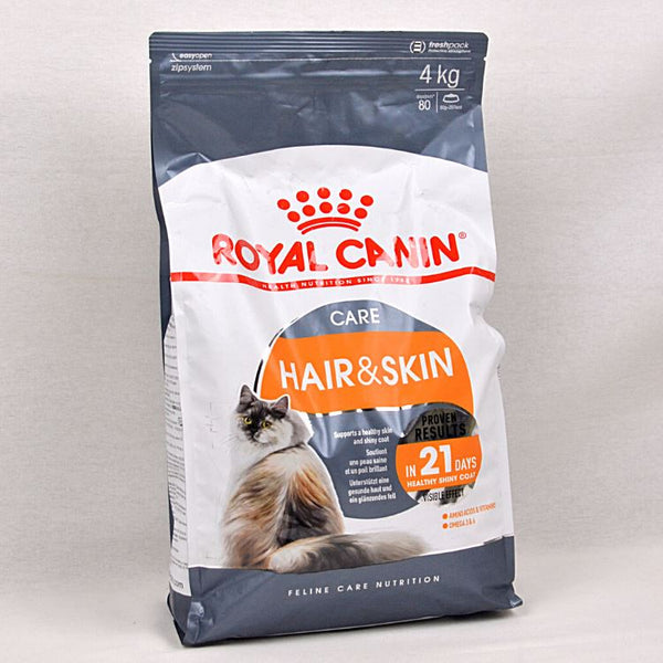 ROYALCANIN Feline Hair and Skin 4kg Cat Dry Food Royal Canin