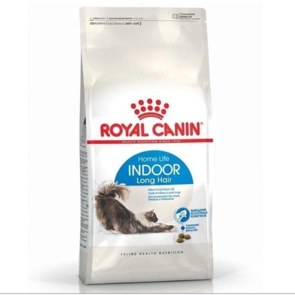 ROYALCANIN Feline Indoor Life Long Hair 2kg Cat Dry Food Royal Canin
