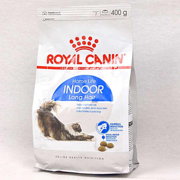 ROYALCANIN Feline Indoor Life Long Hair 400gr Cat Dry Food Royal Canin