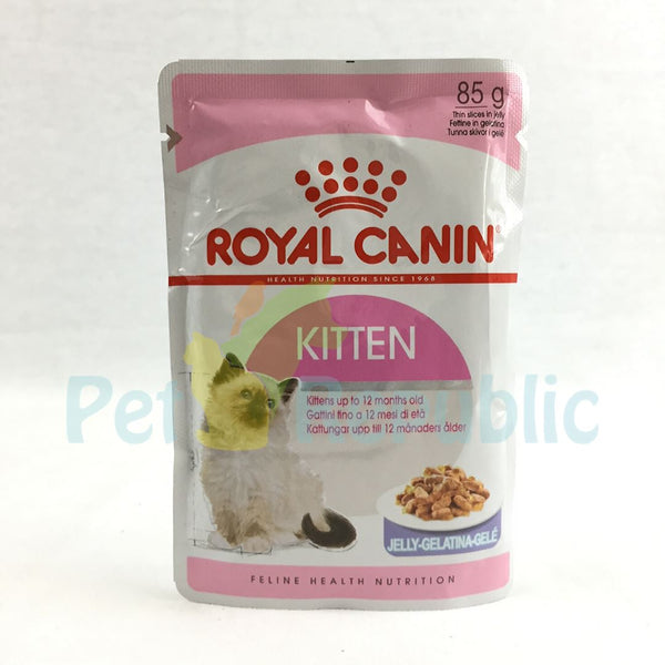 ROYALCANIN Kitten Instinctive Pouch Jelly 85gr - Pet Republic Jakarta