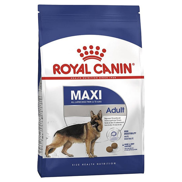 ROYALCANIN Maxi Adult 15kg Dog Food Dry Royal Canin