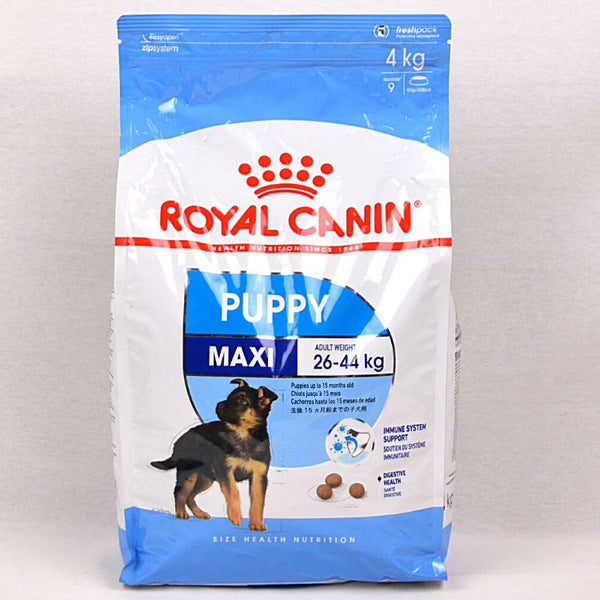 ROYALCANIN Maxi PUPPY 4kg Dog Food Dry Royal Canin