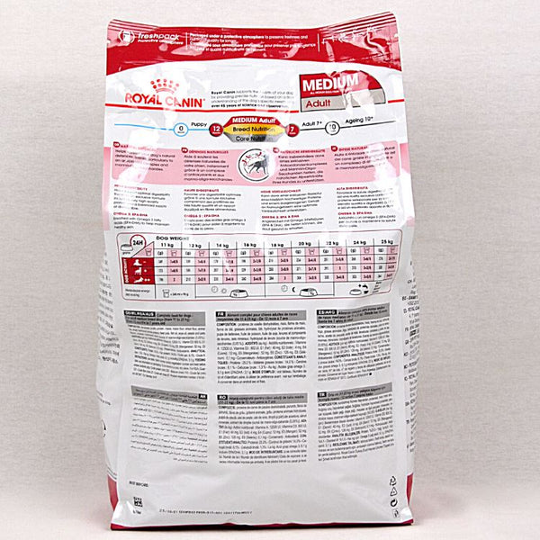 ROYALCANIN Medium Adult 4kg Dog Food Dry Royal Canin