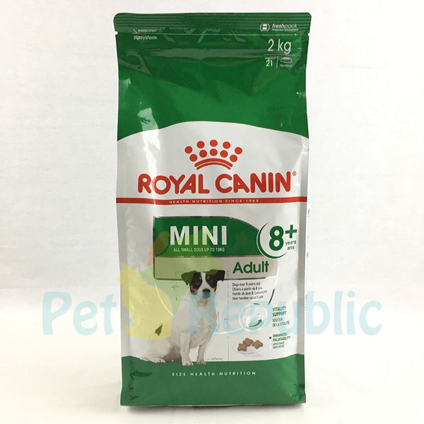 ROYALCANIN Mini Adult 8+ 2kg - Pet Republic Jakarta