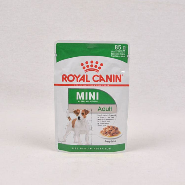ROYALCANIN Mini Adult Pouch 85gr Dog Food Wet Royal Canin