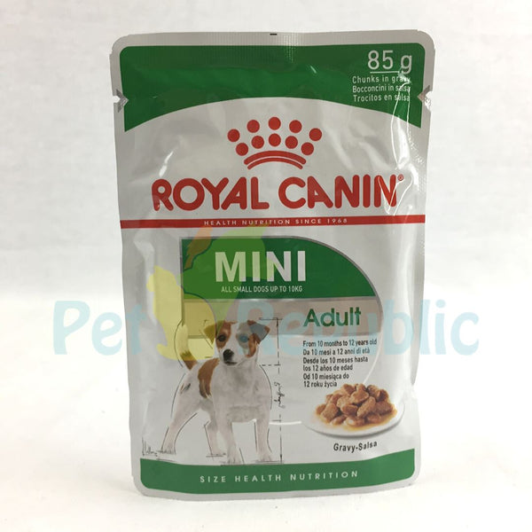ROYALCANIN Mini Adult Pouch 85gr - Pet Republic Jakarta