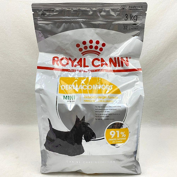 ROYALCANIN Mini Dermacomfort 3kg Dog Food Dry Royal Canin