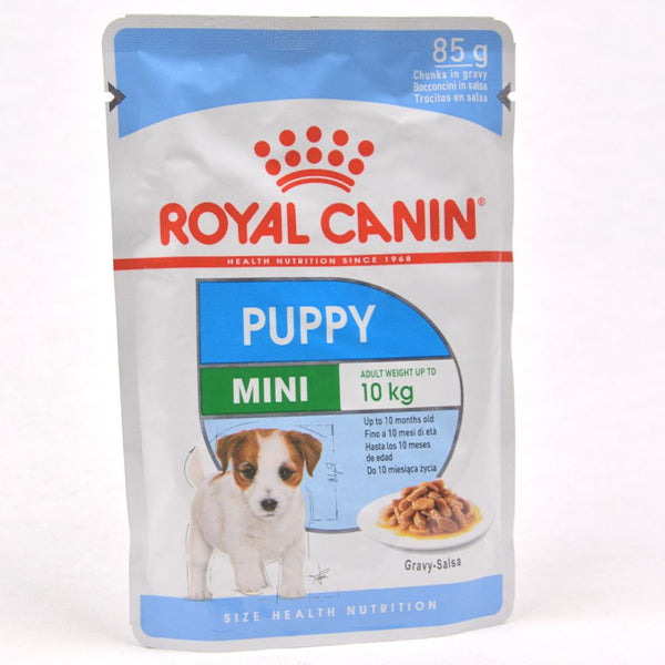 ROYALCANIN Mini Puppy Pouch 85gr Dog Food Wet Royal Canin