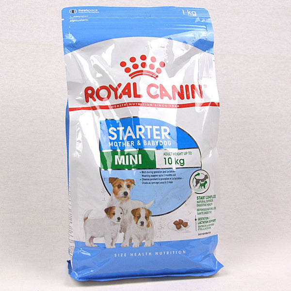 ROYALCANIN Mini Starter Mother and Baby Dog 1kg Dog Food Dry Royal Canin