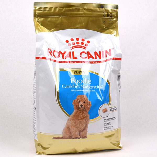 ROYALCANIN Poodle Junior 3kg Dog Food Dry Royal Canin