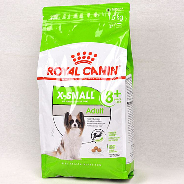 ROYALCANIN X-Small Mature Adult 8+ 1.5kg Dog Food Dry Royal Canin