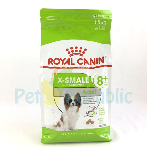 ROYALCANIN X-Small Mature Adult  8+ 1.5kg - Pet Republic Jakarta