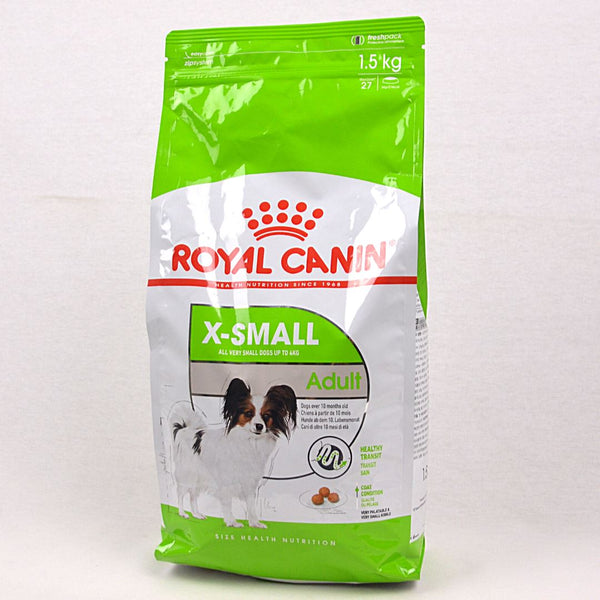 ROYALCANIN Xsmall Adult 1.5kg Dog Food Dry Royal Canin